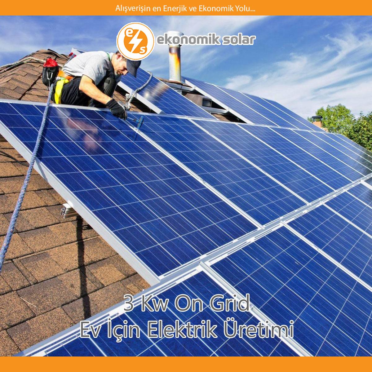 Evlerinize ve Bütçelerinize Uygun Hazır Solar Paketler